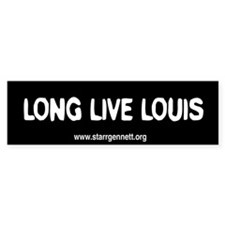 Long Live Louis Bumper Bumper Sticker