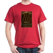 Occupations Related To Household Arts T-shirt