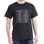 vi reference t-shirt (black)