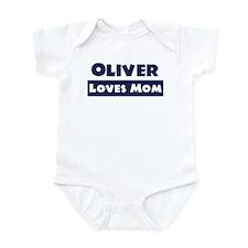 Oliver Loves Mom Infant Bodysuit