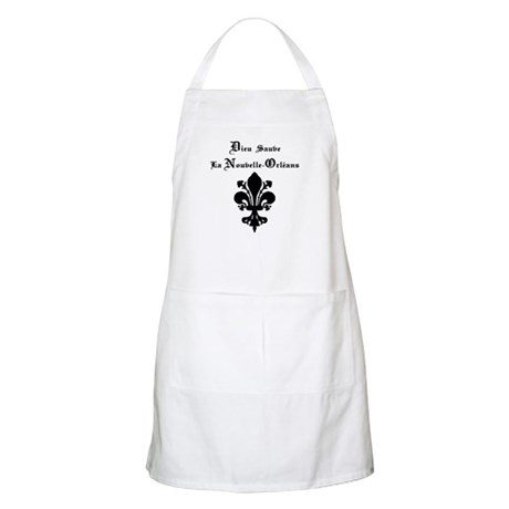 God Save New Orleans BBQ Apron