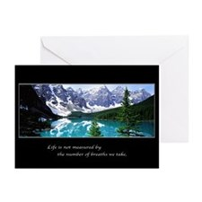 MORAINE LAKE Greeting Cards (Pk of 10)