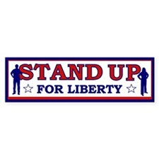 Stand Up For Liberty Bumper Bumper Sticker