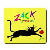 """Jumping Zack"" Mousepad"