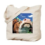 Keep a Diary Tote Bag