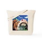 Keep a Diary Tote Bag
