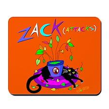 """No Zacks Allowed"" Mousepad"