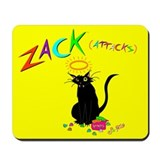 """Angel Zack"" Mousepad"