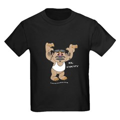 El Cucuy, Dark Apparel Kids Dark T-Shirt