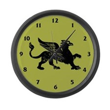 Gryphon Large Wall Clock