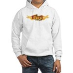 On Fire for the Lord Hooded Sweatshirt