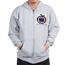 Apple Computer Zip Hoodie