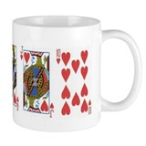 HEART STRAIGHT FLUSH Mug