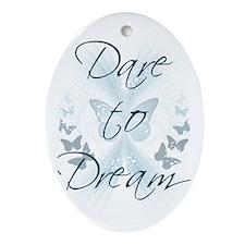 Dare to Dream Oval Ornament