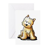 Sitting Cairn Terrier Greeting Cards (Pk of 10