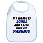 my name is ronda and I live with my parents Bib