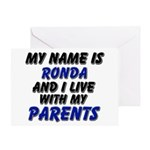 my name is ronda and I live with my parents Greeti