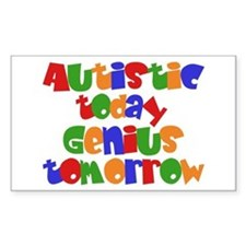 Autistic Today Rectangle Decal