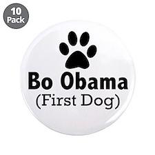 Bo Obama Button (10 pack)