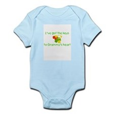 Grammys Heart Infant Bodysuit