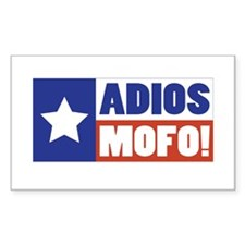 Adios Mofo (Secede) Rectangle Sticker 50 pk)