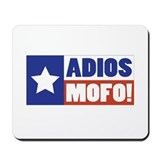 Adios Mofo (Secede) Mousepad