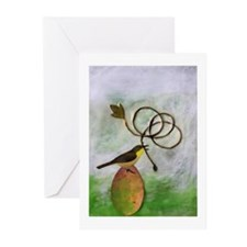Vernal Tricks Greeting Cards