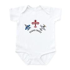 Aviation Plane Crazy Infant Bodysuit