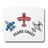 Aviation Plane Crazy Mousepad