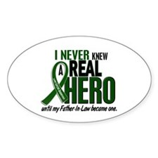 REAL HERO 2 Father-In-Law LiC Oval Decal