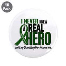 "REAL HERO 2 Granddaughter LiC 3.5"" Button (10 pack"