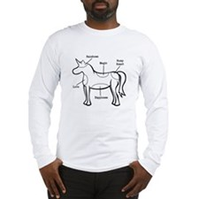 Unicorn Parts Long Sleeve T-Shirt