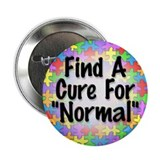 "Cure Normal 2.25"" Button (10 pack)"