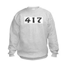 417 Area Code Sweatshirt