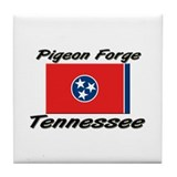 Pigeon Forge Tennessee Tile Coaster