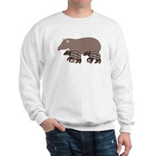 Tapir Family A Sweatshirt
