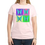 Actias bioluminus Tally Heave Women's Pink T-Shirt