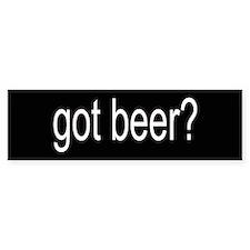 got beer? Bumper Bumper Sticker