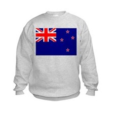 Flag of New Zealand 4 Sweatshirt