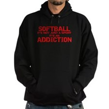 Softball...Addiction Hoodie