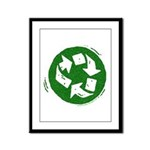 Recycle Framed Panel Print