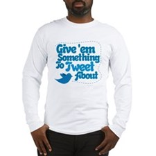 Tweet Blue Bird Long Sleeve T-Shirt