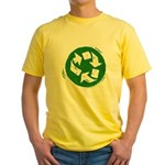 Recycle Yellow T-Shirt