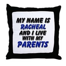 my name is racheal and I live with my parents Thro