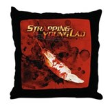 Strapping Young Lad Throw Pillow