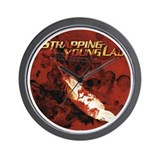 Strapping Young Lad Wall Clock