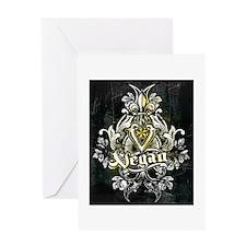 vegan 666 Greeting Cards