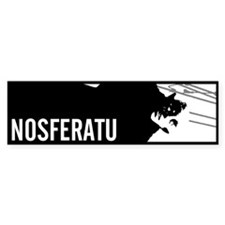 Nosferatu: Count Orlok Bumper Bumper Sticker