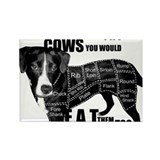 Unique Animal liberation Rectangle Magnet (100 pack)