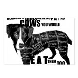 Cool Cruelty Postcards (Package of 8)